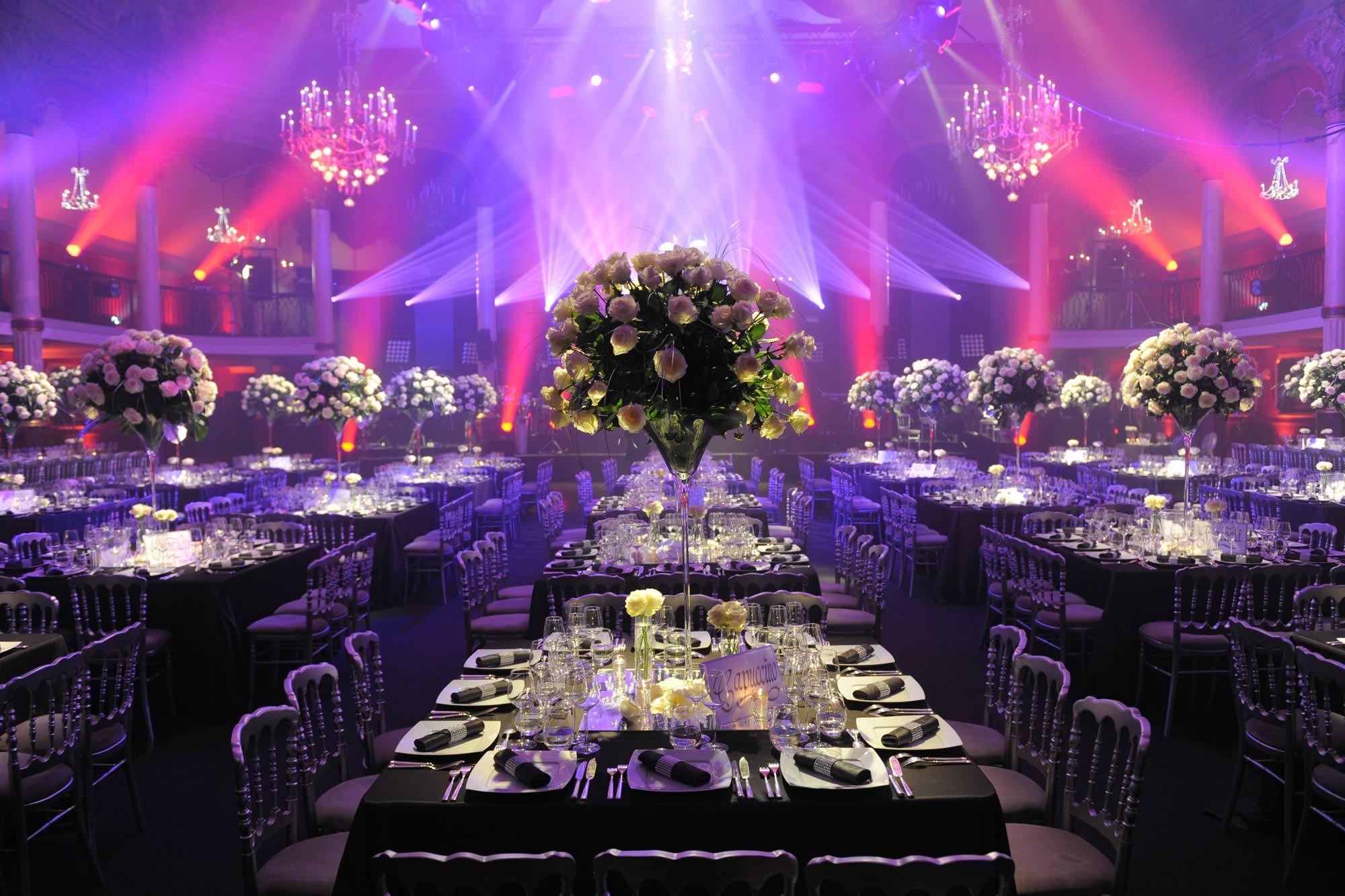 decoration salle mariage juif